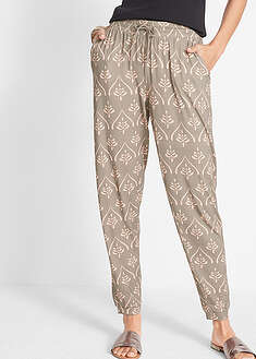Pantaloni din jerse imprimat bpc bonprix collection 2