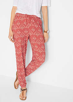 Pantaloni din jerse imprimat bpc bonprix collection 0