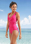 Costum baie shape, nivel 3 fucsia bpc bonprix collection 5