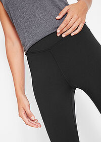 3/4-es sport capri legging 1.szint fekete bpc bonprix collection 4