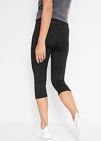 3/4-es sport capri legging 1.szint fekete bpc bonprix collection 2