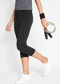 3/4-es sport capri legging 1.szint fekete bpc bonprix collection 1