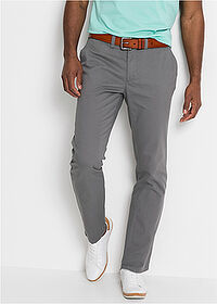 Pantaloni chino Regular Fit gri fumuriu bpc bonprix collection 1