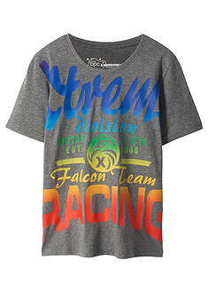 T-shirt z modnym nadrukiem Slim Fit-bpc bonprix collection