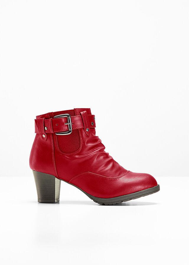 167dc6797f Členkové čižmy s YouFoam rubínovo červená • 27.99 € • bonprix