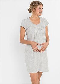 2deee2af88ce16 Koszula nocna ciążowa i do karmienia • jasnoszary melanż • bonprix sklep.  290