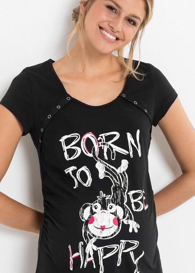 1750ecb5d Nočná košeľa na kojenie čierna Pekná • 9.99 € • bonprix