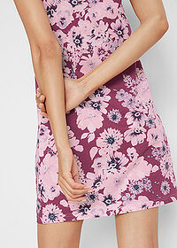 Rochie jerse (2buc/pac) mov floral+roz pal bpc bonprix collection 4