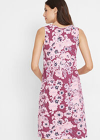 Rochie jerse (2buc/pac) mov floral+roz pal bpc bonprix collection 2