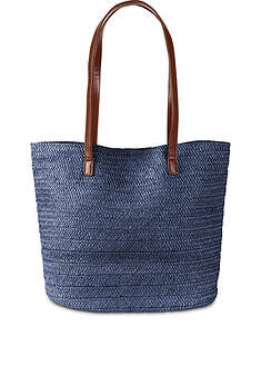 Torba słomiana shopper-bpc bonprix collection