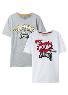 T-shirt (2 szt.) bpc bonprix collection 46