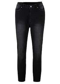 Blugi Maite Kelly cu stretch gri denim uzat bpc bonprix collection 0