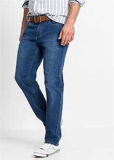 Miękkie dżinsy ze stretchem Regular Fit Straight John Baner JEANSWEAR 58