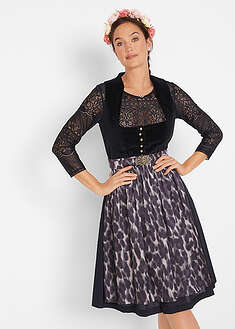 Costum Dirndl cu şort în stil leo-bpc bonprix collection
