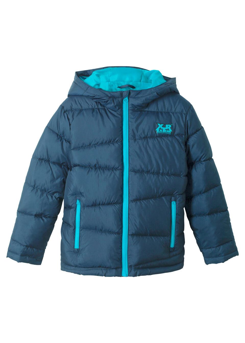 Chlapčenská vatovaná zimná bunda, podšitá bonprix