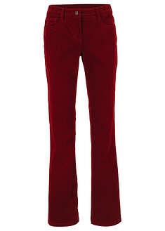 Spodnie sztruksowe ze stretchem Bootcut