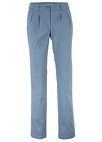 Pantaloni chino stretch albastru bpc bonprix collection 0