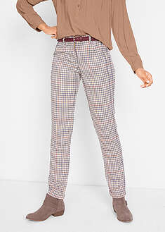 Pantaloni cu model Glencheck bpc bonprix collection 56