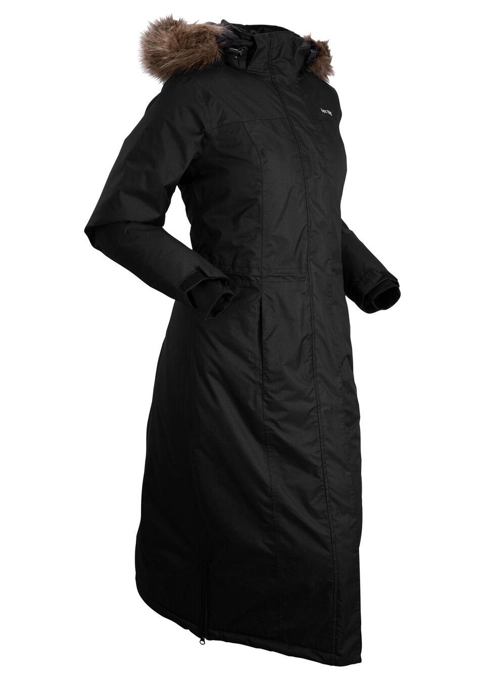 Купить Куртки и плащи, Пальто с мехом для активного отдыха, bonprix, черный