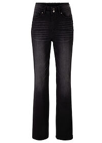 "Jeans push-up ""bootcut"" negru stone bpc bonprix collection 0"