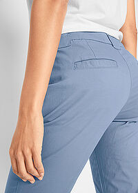 Pantaloni chino stretch albastru bpc bonprix collection 5