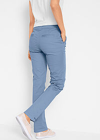 Pantaloni chino stretch albastru bpc bonprix collection 2
