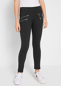 Pantaloni fete stretch negru bpc bonprix collection 1