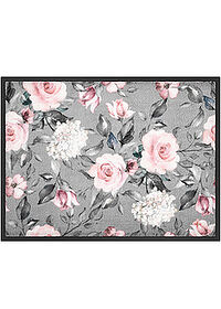 Covoraş intrare, motiv floral gri/roz pal bpc living bonprix collection 0