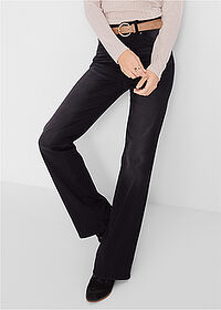 "Jeans push-up ""bootcut"" negru stone bpc bonprix collection 1"