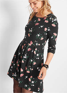 Rochie din jerse floral bpc bonprix collection 35