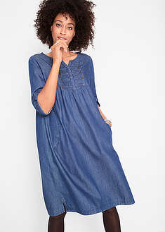 Rochie aspect denim bpc bonprix collection 7