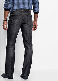 Regular Fit farmer, Straight fekete kőmosott John Baner JEANSWEAR 2