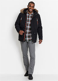 Parka ocieplana czarny bpc bonprix collection 3
