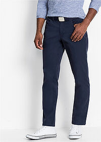 Pantaloni drepţi Regular Fit bleumarin bpc bonprix collection 1