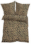 "Lenjerie de pat cu print ""leopard"" maro bpc living bonprix collection 2"