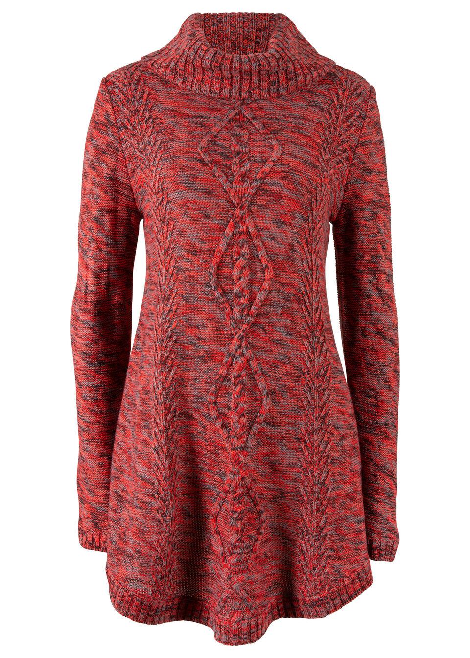 Купить Свитера, Пуловер, bonprix, клубничный меланж