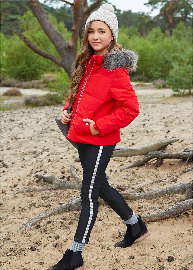 Steppelt lány dzseki kapucnival piros • 12499.0 Ft • bonprix