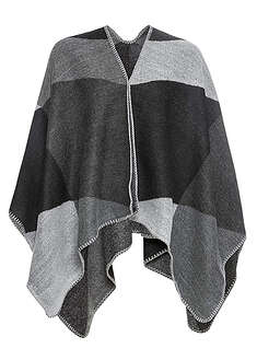 Poncho w kratę bpc bonprix collection 13
