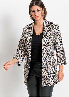 Blazer cu print animal BODYFLIRT 50