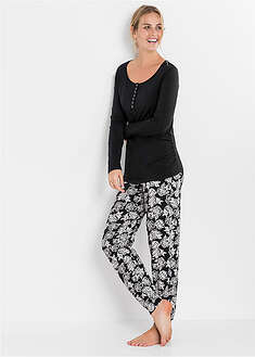 Pijama gravide/alăptare, bio bpc bonprix collection - Nice Size 48