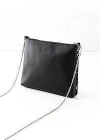 Gentuţă Crossbody negru/argintiu bpc bonprix collection 2