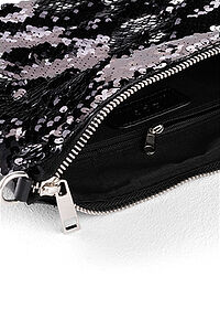 Gentuţă Crossbody negru/argintiu bpc bonprix collection 3