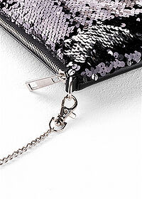Gentuţă Crossbody negru/argintiu bpc bonprix collection 4