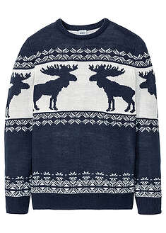 Sweter w norweski wzór bpc bonprix collection 15
