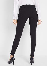 Pantaloni stretch negru twill bpc bonprix collection 2