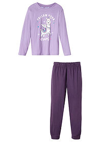 Pijama fete (set/2piese) liliachiu/mov bpc bonprix collection 2