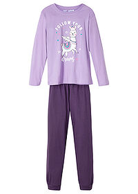 Pijama fete (set/2piese) liliachiu/mov bpc bonprix collection 0