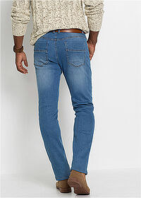 Thermo sztreccsnadrág Regular Fit Straight kék kőmosott John Baner JEANSWEAR 2