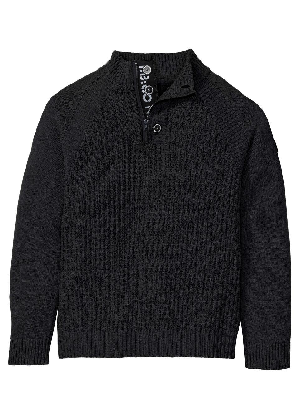 Фото - Пуловер от bonprix черного цвета