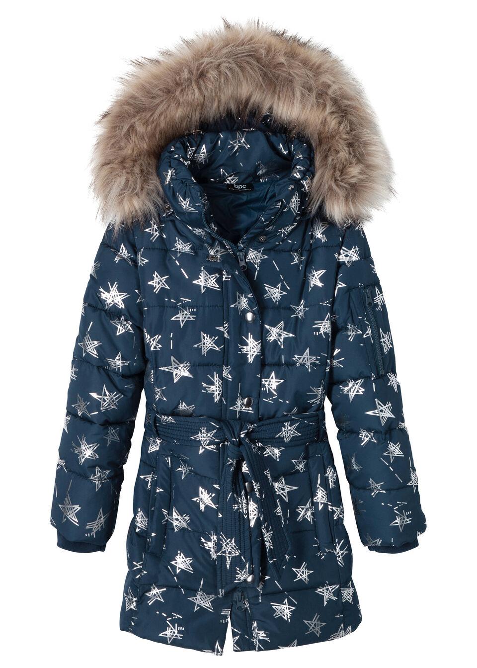 Zimná bunda s hviezdovanou potlačou bonprix
